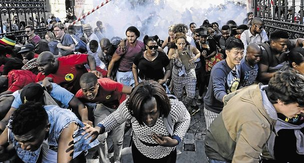 south-african-students-protest-planned-tuition-fee-hikes